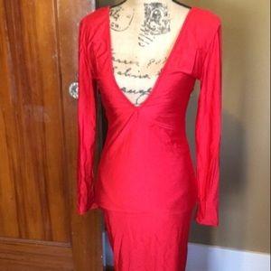 Dresses & Skirts - VaVa for your Voom!! NWOT RED Satin dress!